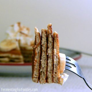 Gluten free buttermilk pancakes are a delicious breakfast option