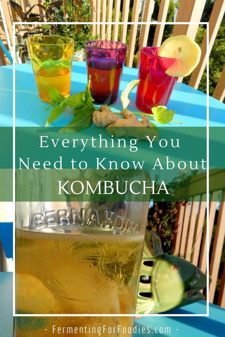 Kombucha, tea, sugar, flavours, scoby, health. How to make kombucha