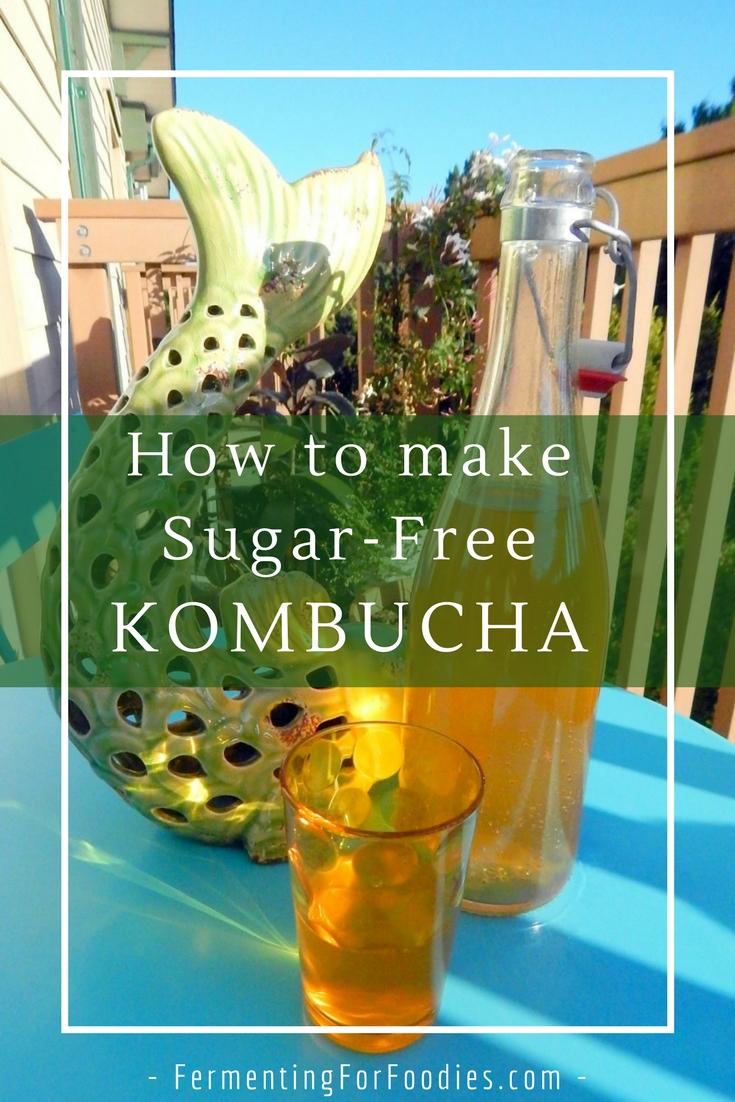 Herbal, sugar-free, stevia, xylitol, honey, herbal kombucha