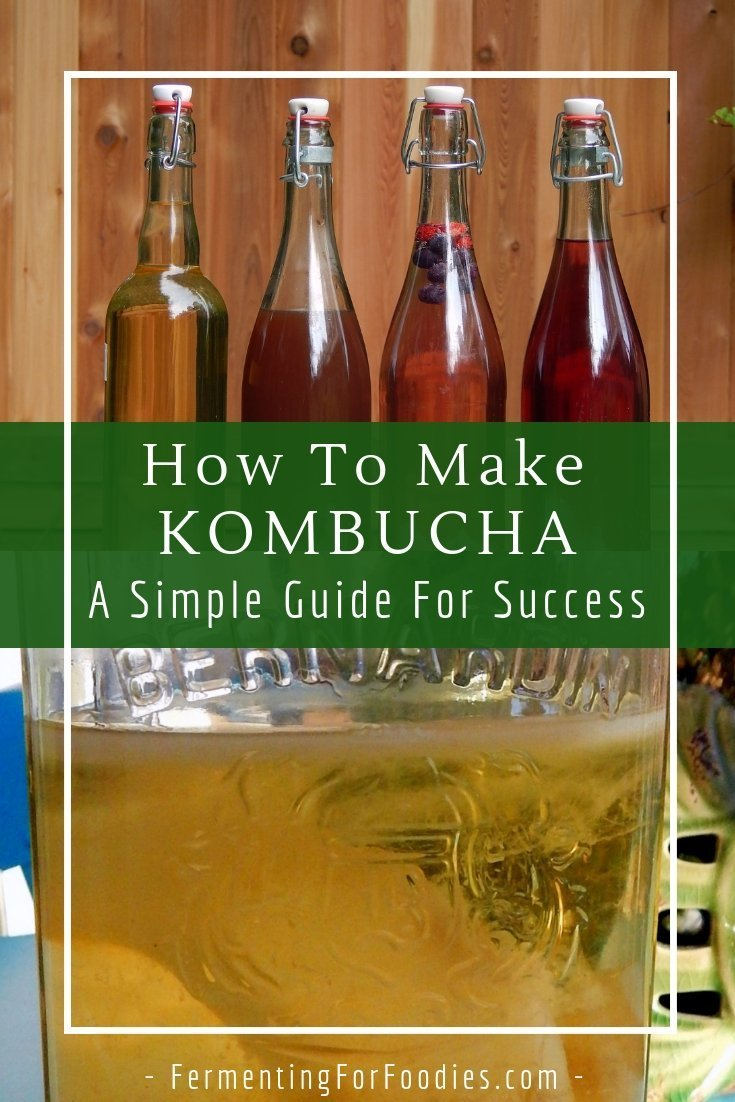 How to make kombucha - a simple guide to everything you need to know