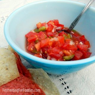 Simple & Delicious Fermented Tomato Salsa