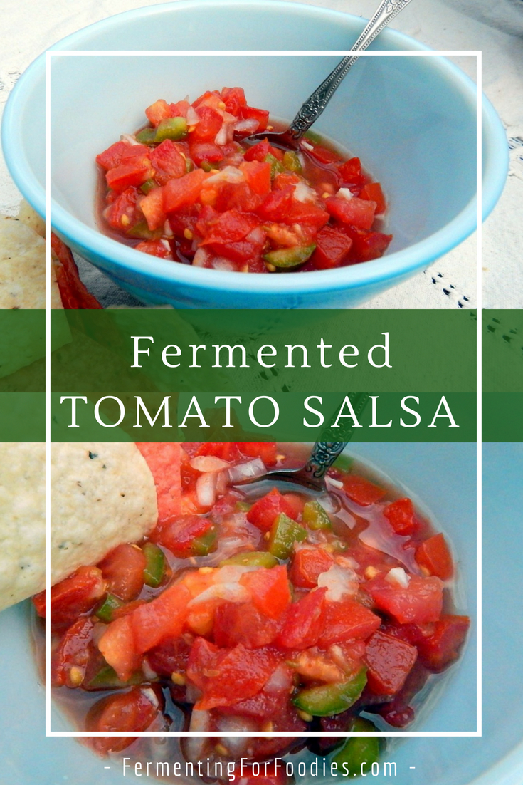 Probiotic Salsa - Homemade Preserved Tomatoes