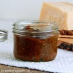 Healthy apple chutney is sugar free and cultured