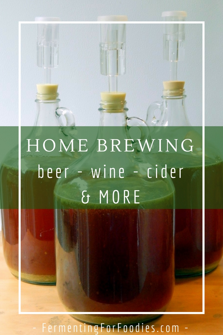 How to make alcohol - beer, wine, cider and more