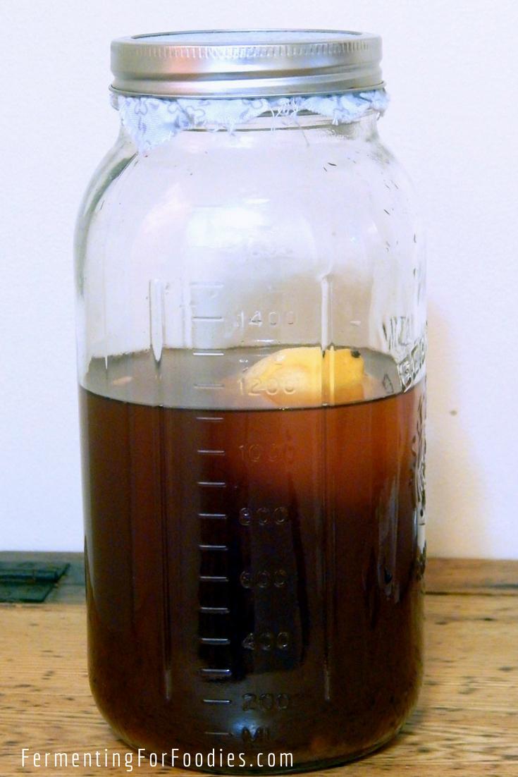 Water Kefir Flavours - Honey, coconut water, juice.