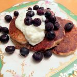 Honey Rye Buttermilk Pancakes