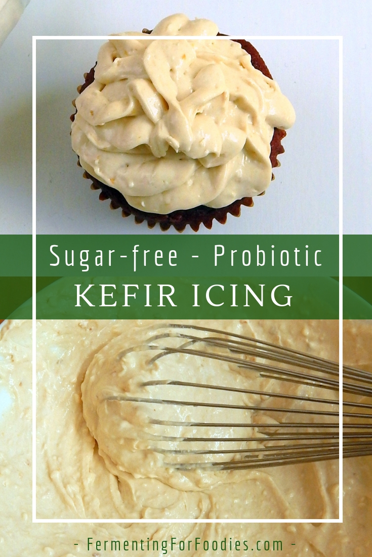 Cream cheese and jam frosting - marmalade, apricot or berry