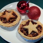 Two mincemeat pies