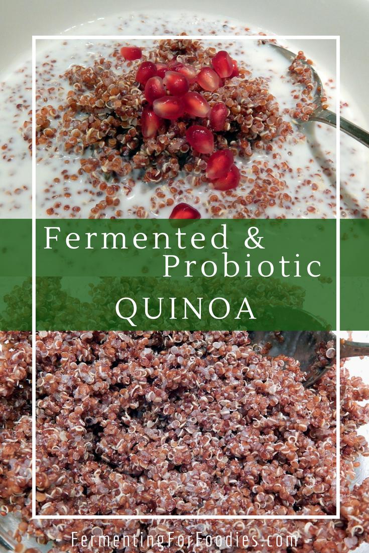 Fermented quinoa cereal - a delicious breakfast