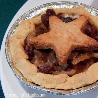 Traditional mincemeat - sugar-free and fermented