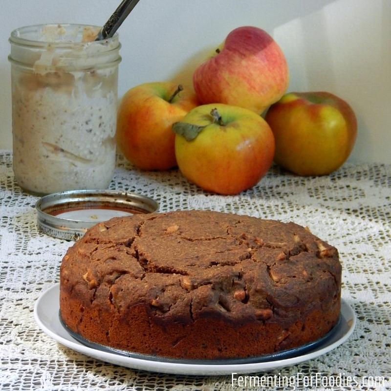 Apple Coffee Cake - Vegan, gluten free, sugar free, delicious