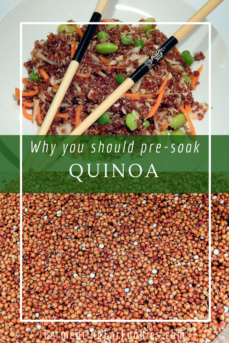 What are saponins in quinoa