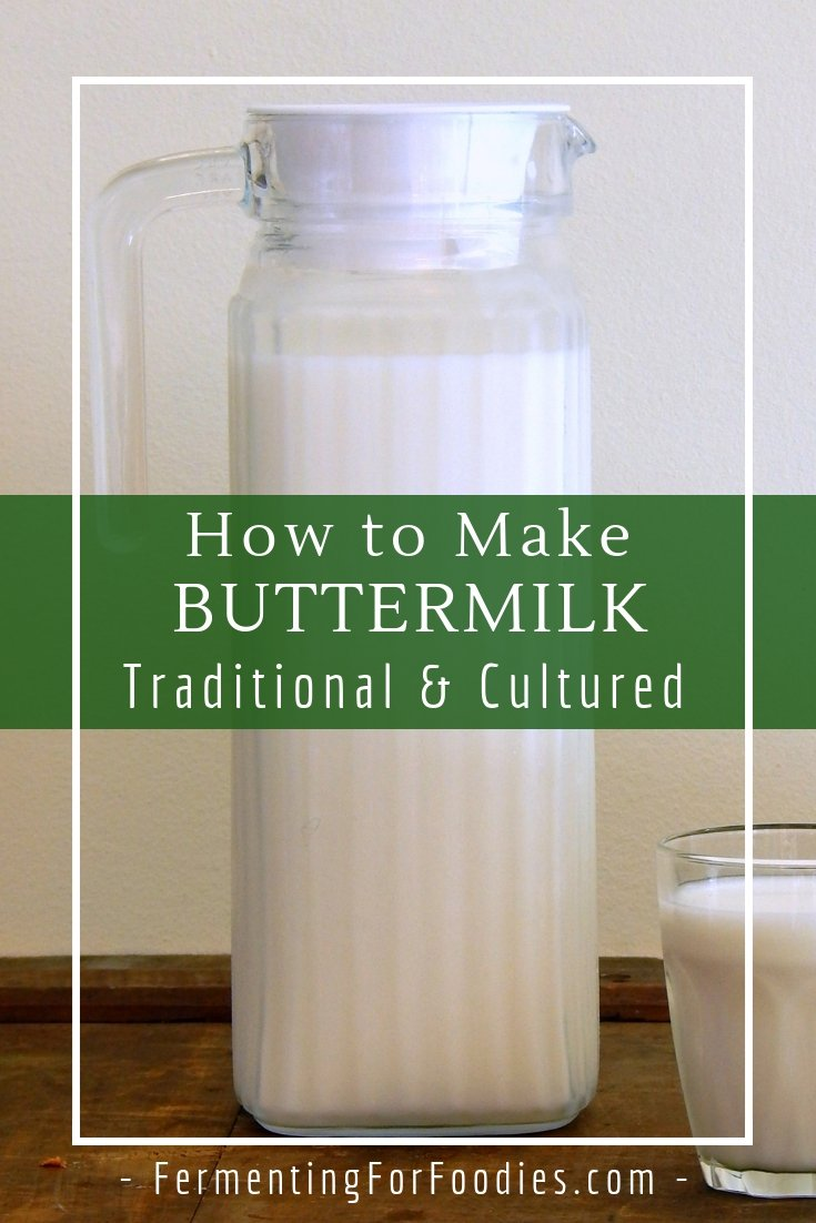 Learn about the different ways to make cultured buttermilk.