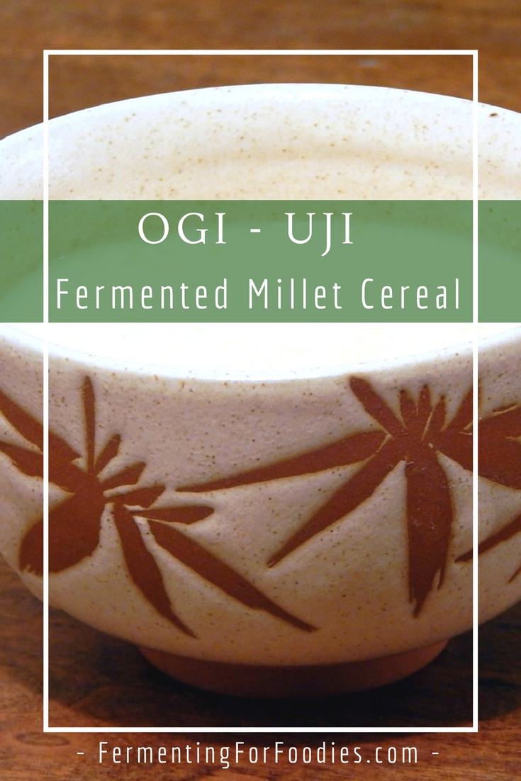 Traditional African fermented millet
