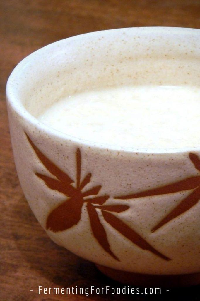 Fermented millet porridge is a healthy breakfast option