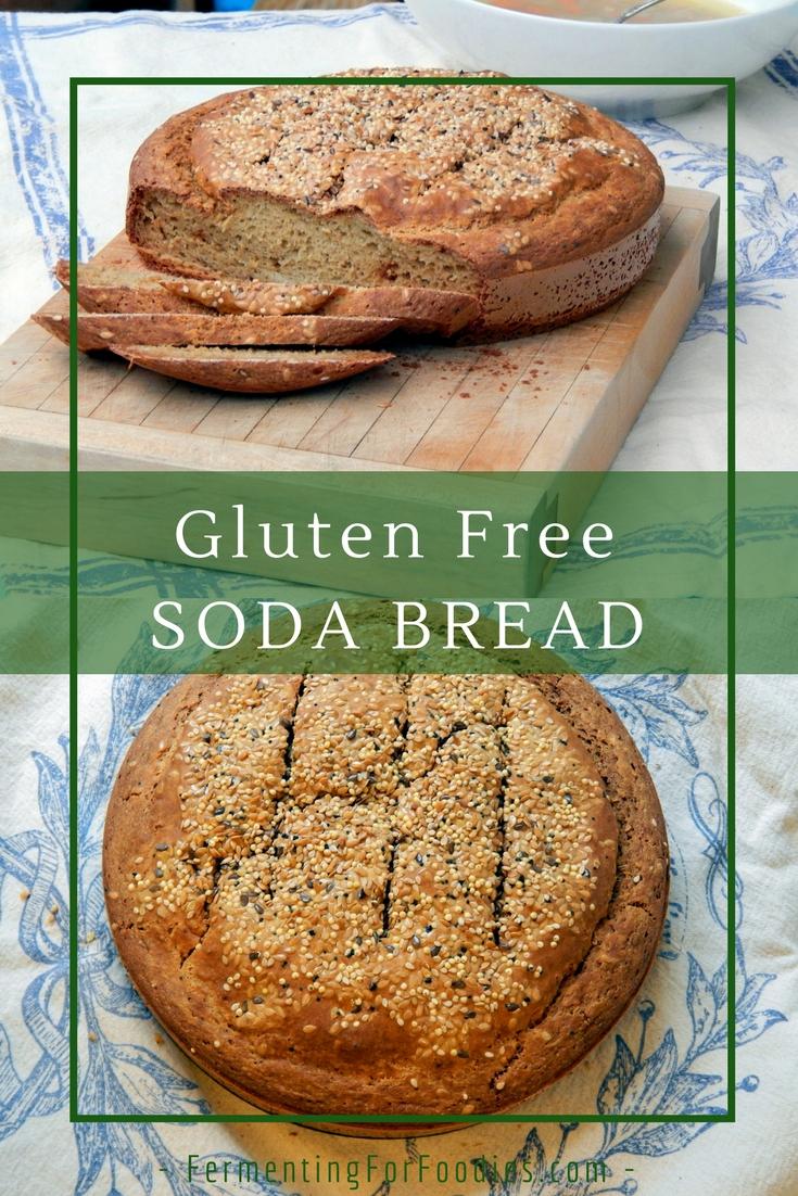 Traditional Irish Soda Bread -Gluten Free, Quick and Simple