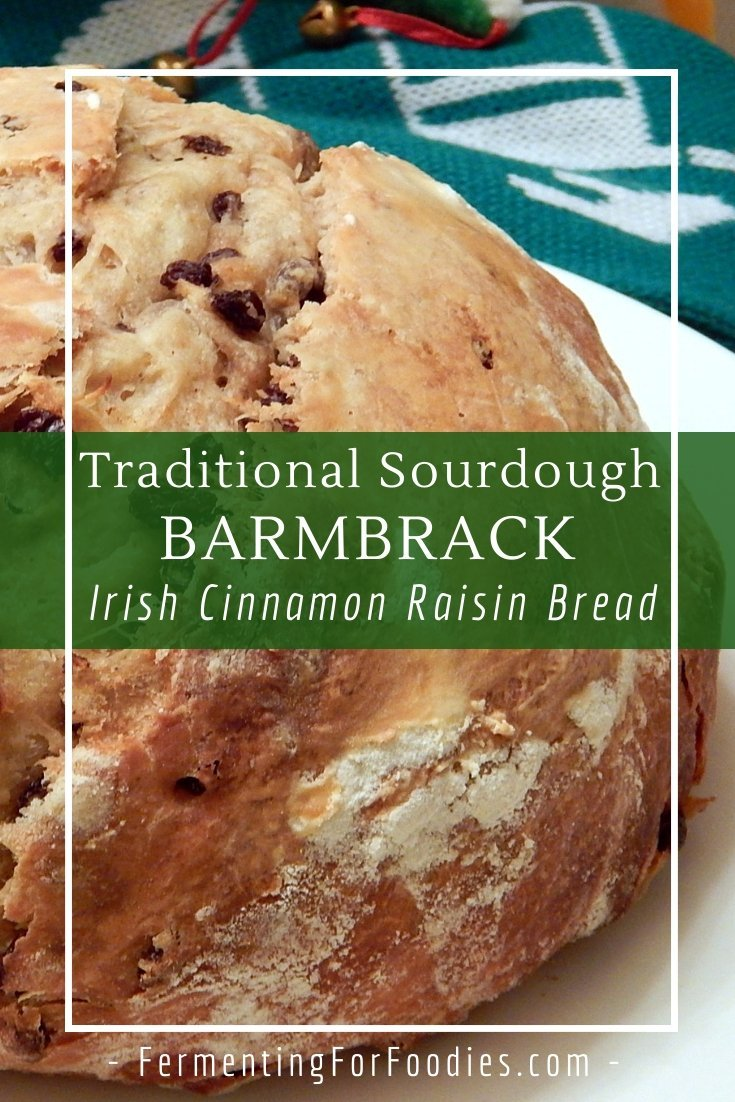 Looking for a delicious raisin bread recipe - try sourdough barmbrack