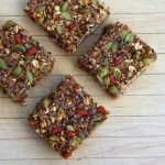 Sourdough granola bars - a healthy, sugar-free snack