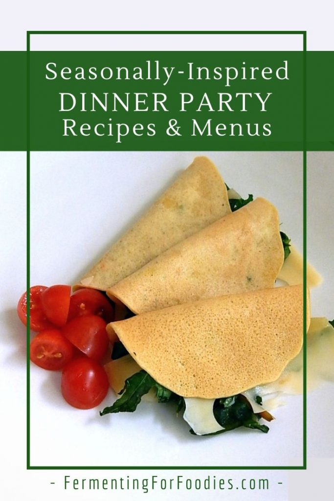 Delicious, easy and gluten-free dinner party recipes