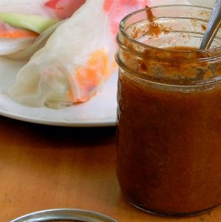 Traditional Fermented Plum Sauce - Sweet, spicy and delicious