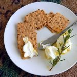 Olive oil and herb marinated soft cheese is a perfect appetizer or gift