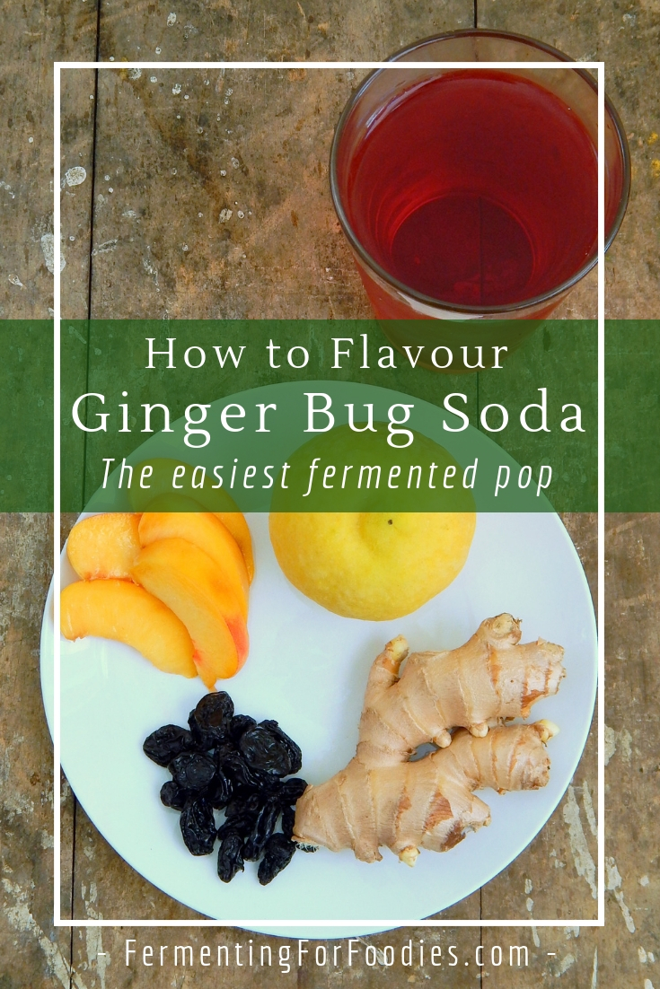 Ginger bug soda - Easy and delicious