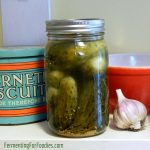 Grandma's super simple pickle recipe - traditionally fermented pickles