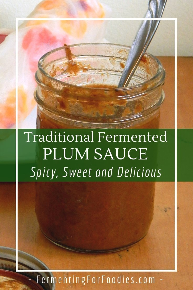 Fermented plum sauce, perfect for salad rolls, spring rolls and stir fries