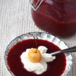 How to make honey fermented plum coulis for a probiotic and delicious treat