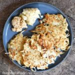 Simple and delicious sauerkraut latkes are perfect for breakfast, lunch or dinner!