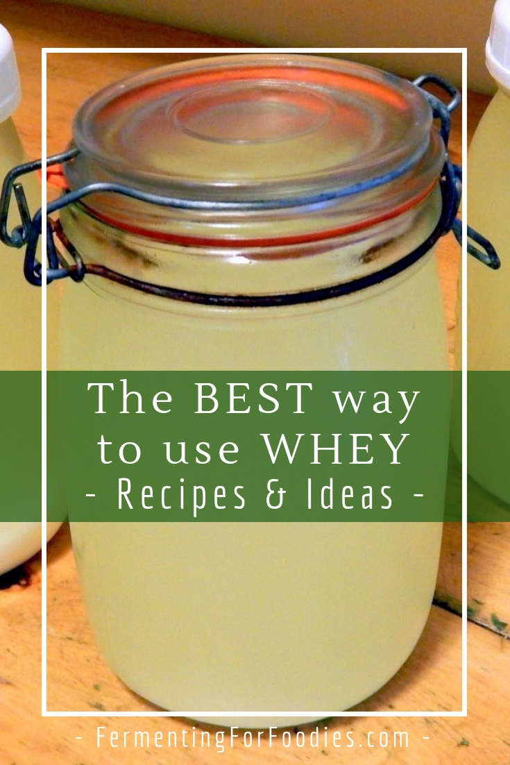 How to use up extra whey - recipes and tips