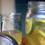 This fermented health tonic is a mild version of fire cider, perfect for kids and those with sensitive stomachs