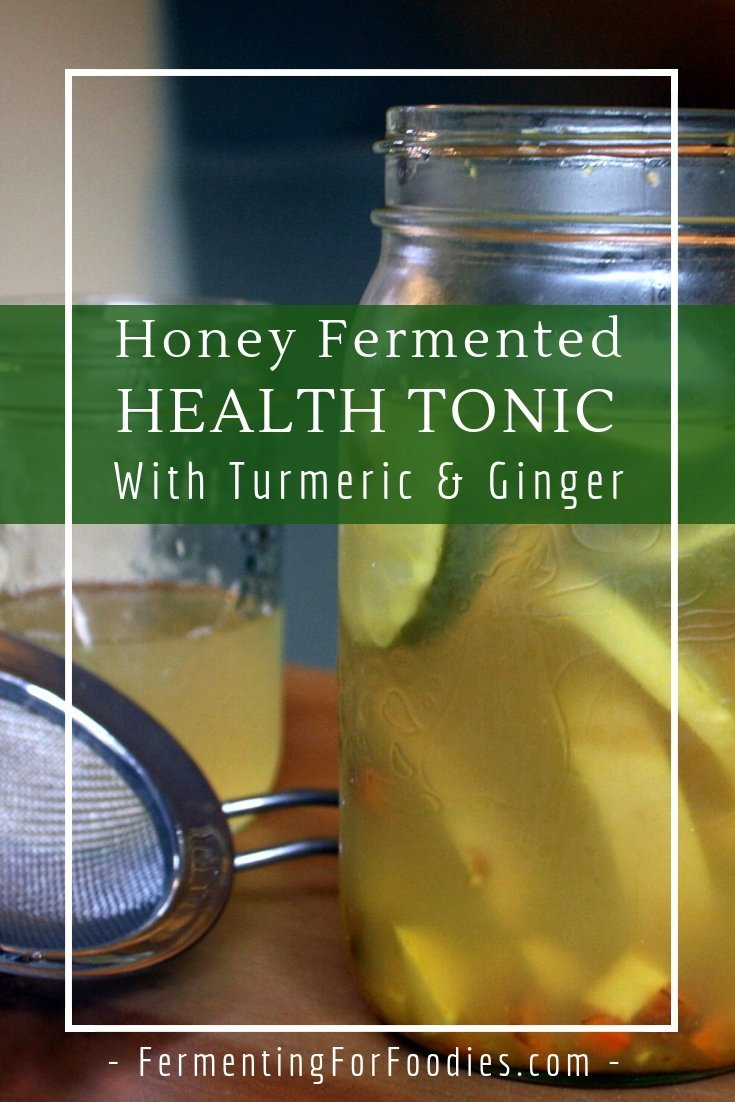 Boost your immune system with this delicious fermented health tonic