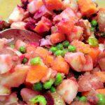 Beet Kvass Salad