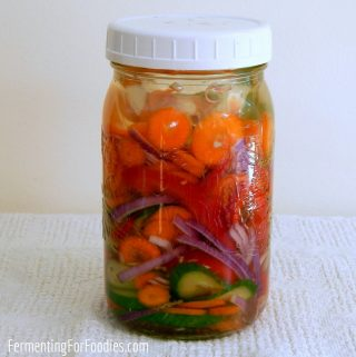 Fermented vegetable starter - when you need them and what to use