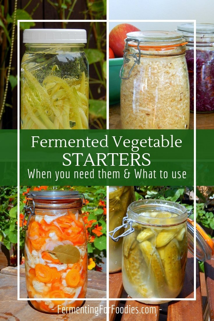 Do fermented vegetables need a starter