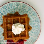 Pre-fermented buttermilk waffles - gluten free, sugar free, healthy