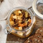 Mostarda with honey, apples, dried fruit and mustard seeds