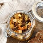 Honey fermented mostarda is a variation of a Northern Italian condiment.