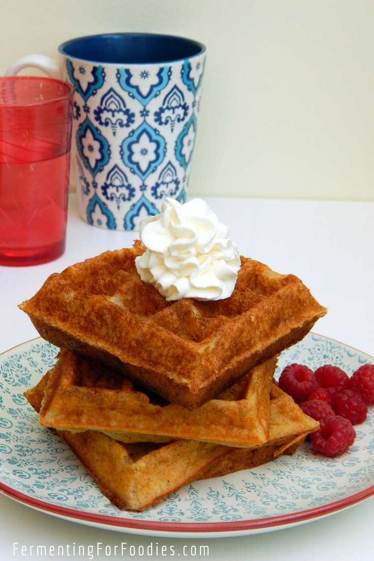 Quick and delicious buttermilk waffles