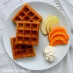 Overnight sourdough waffles are incredibly delicious.