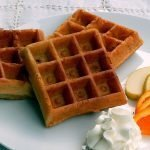 Delicious and traditional sourdough waffles - wholegrain, sugar free and healthy