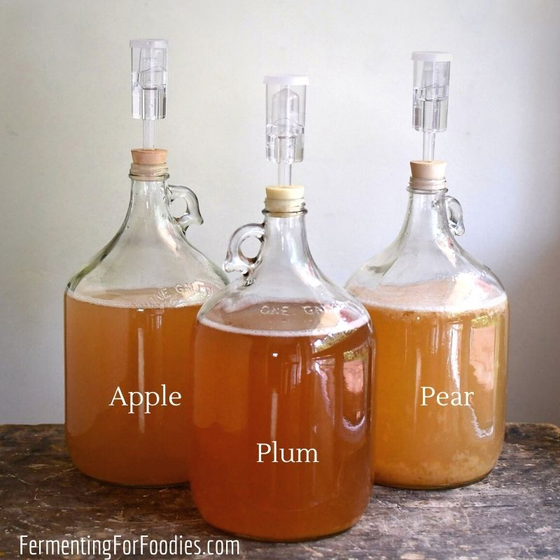 Simple recipes for homemade wine and cider