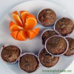 Gluten free, sugar free, fermented morning glory muffins