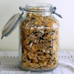 Soaked and fermented granola - a healthy, sugar-free breakfast