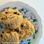 Fermented cookies - healthy cream cheese chocolate chip cookies