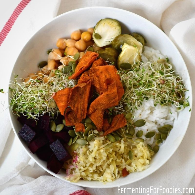 Ready in under 15 minutes, Buddha bowls and glory bowls are the delicious way to eat healthy.
