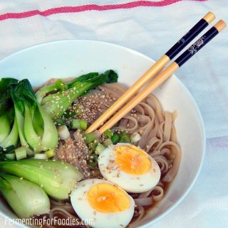 Quick and easy Japanese noodle soup