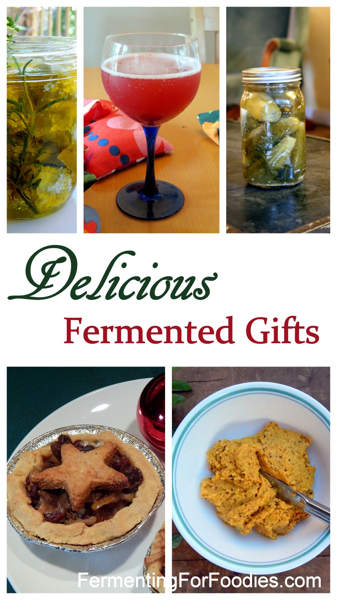 Mustard, mincemeat, pickles and cheese. Gifts for Christmas and Hanukkah
