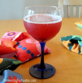 Homemade beverages make a great gift!